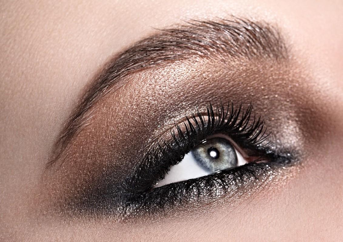 Titelbild: Abend Make-up und Glamour Make-up