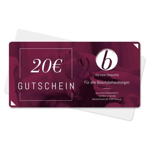 20€ Gutschein